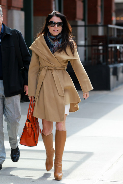 Bethenny Frankel carries a Celine Luggage Tote in NYC (2)