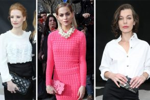 Check out all the bags the stars carried to the Chanel Fall 2013 show