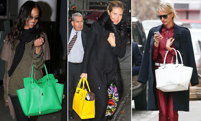 Celebrities with the Michael Kors Miranda Tote