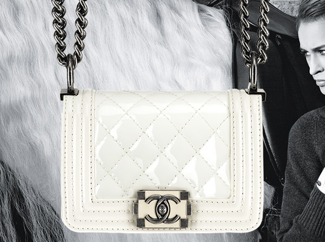 The Spring 2013 Chanel Boy Bags, with advertising campaign featuring Alice Dellal (7)