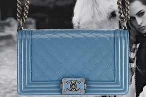 The Spring 2013 Chanel Boy Bags, with advertising campaign featuring Alice Dellal (8)