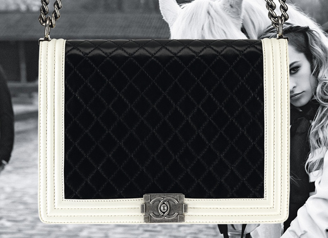 The Spring 2013 Chanel Boy Bags, with advertising campaign featuring Alice Dellal (9)