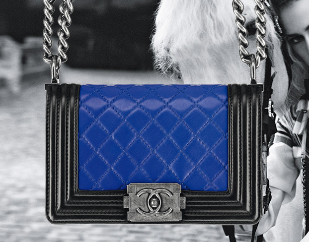 The Spring 2013 Chanel Boy Bags, with advertising campaign featuring Alice Dellal (10)