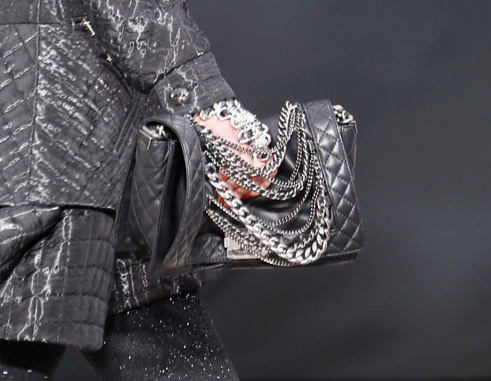 Chanel Chain-Covered Flap Bag