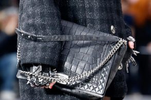 The Chain Gang: Fall 2013's handbags are all about metal embellishments