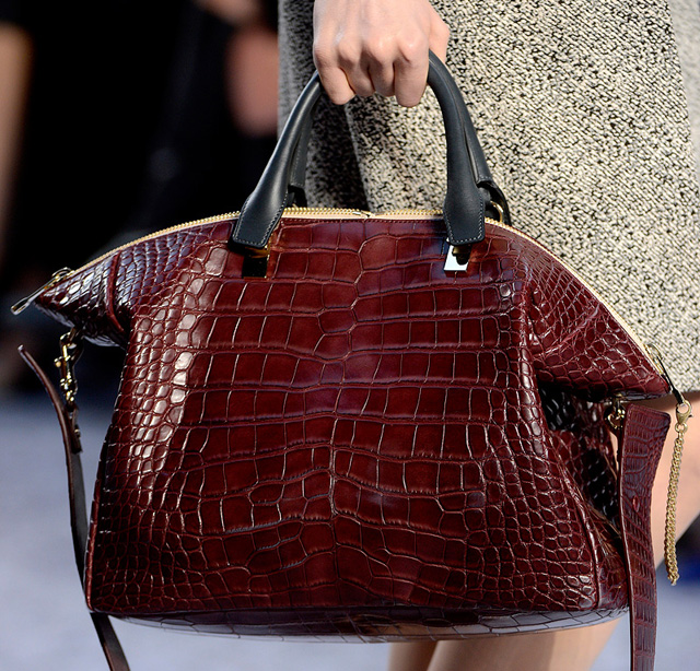 Chloe Fall 2013 Crocodile Duffel