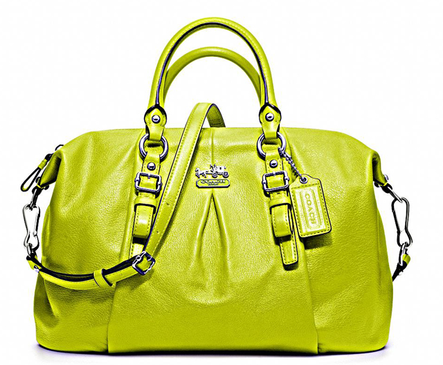 Coach Madison Leather Juliette