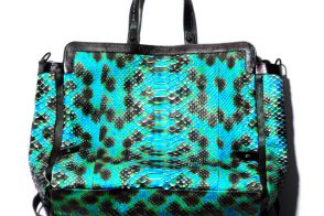 This Dax Gabler tote will cure your python boredom