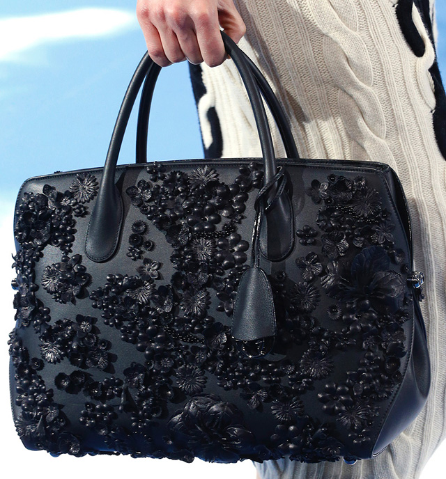 Dior Fall 2013 Embellished East West Bar bag