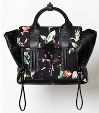 Faded Botanical Pashli Mini Satchel