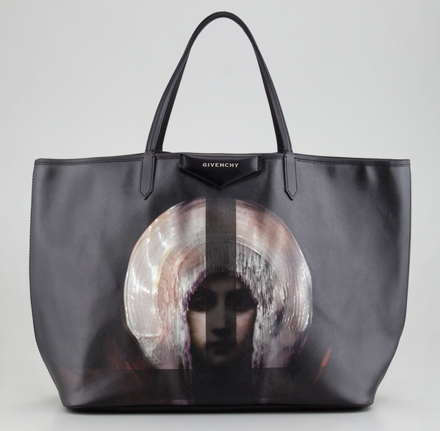 Givenchy Antigona Madonna-Print Shopper