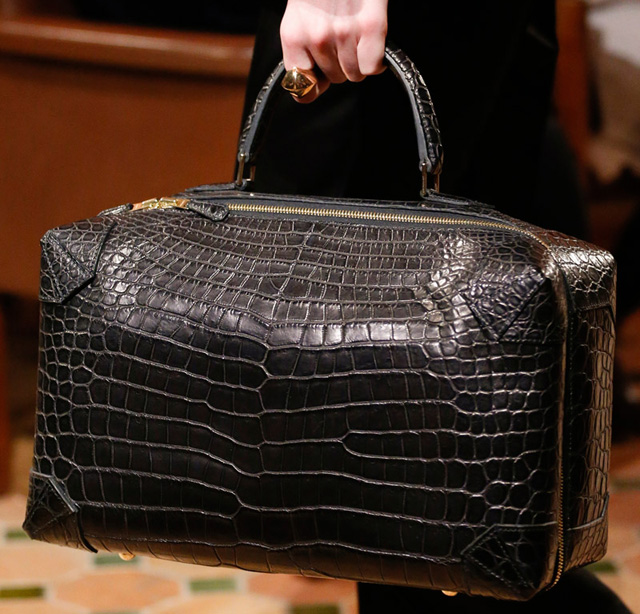 Hermes Fall 2013 Alligator Travel Bag