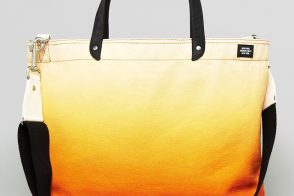 Man Bag Monday: Jack Spade Ombre Coal Tote