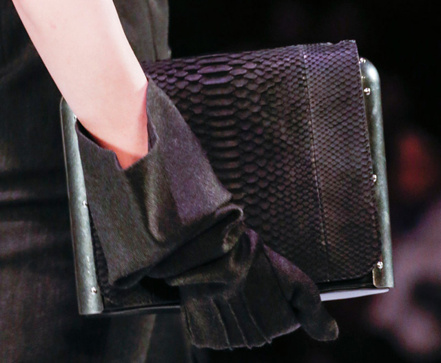 Jean Paul Gaultier Metal Frame Clutch