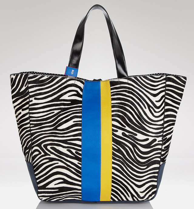 Juicy Couture Zebra Haircalf Tote