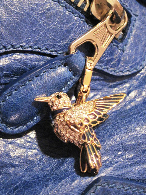Juicy Coutute Hummingbird Charm