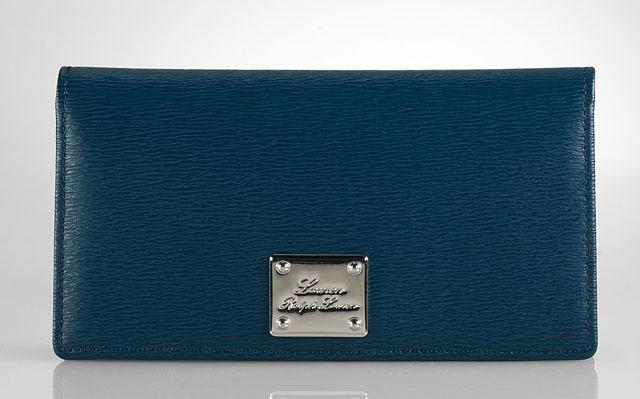Lauren Ralph Lauren Newbury Slim Leather Wallet