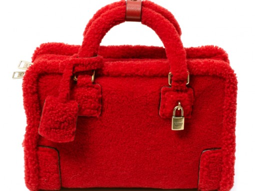 Loewe Amazona Poppy Sheep Bag