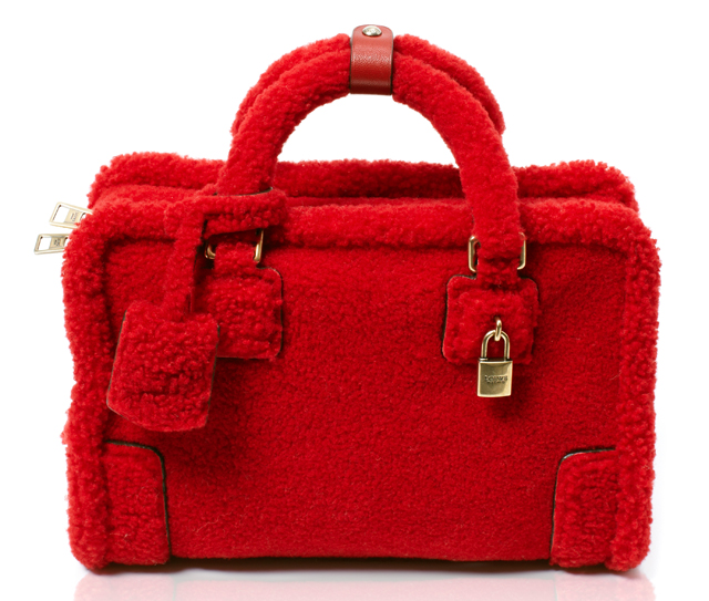 Loewe Amazona Poppy Sheep Bag
