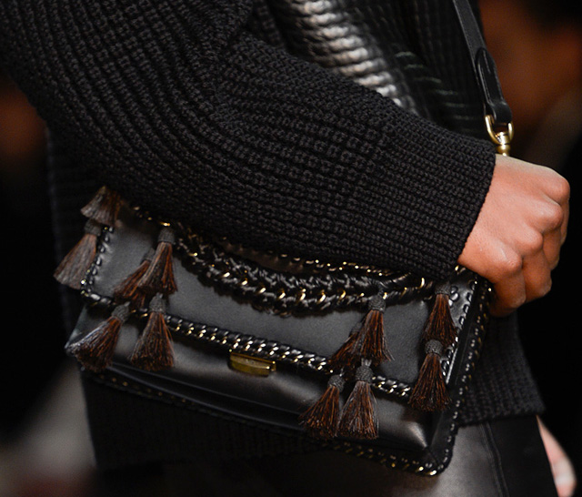 Loewe Chain Trim Shoulder Bag