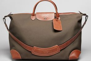 Man Bag Monday: Longchamp Boxford Travel Bag