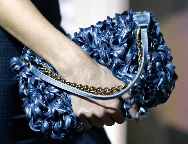 Louis Vuitton Fall 2013 Feather Pochette Accessoires
