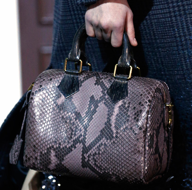 Louis Vuitton Fall 2013 Python Speedy Bag
