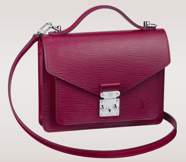 Louis Vuitton Monceau BB Bag Fuchsia Epi