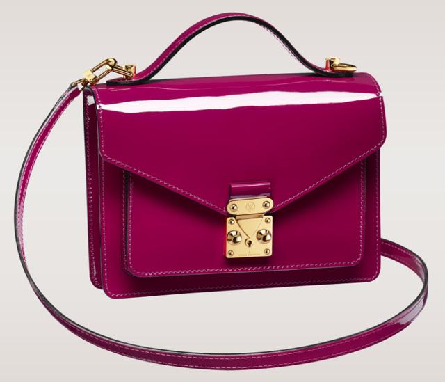 Louis Vuitton Monceau BB Bag Indian Rose Vernis