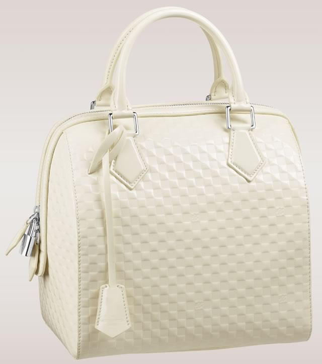 Louis Vuitton Speedy Cube Cream