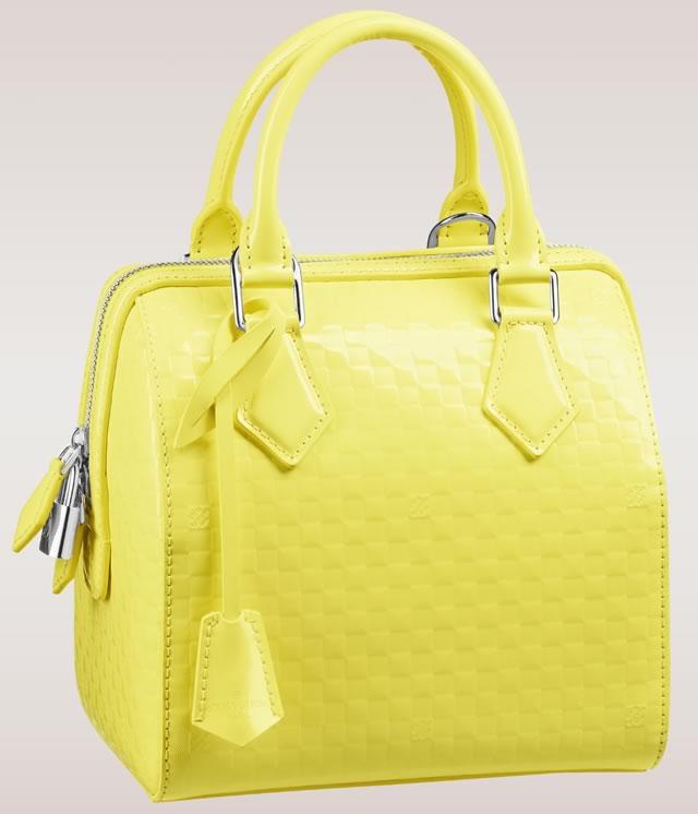 Louis Vuitton Speedy Cube Yellow