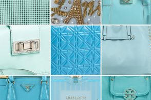 March Birthday Gift Guide 2013: Aquamarine Handbags