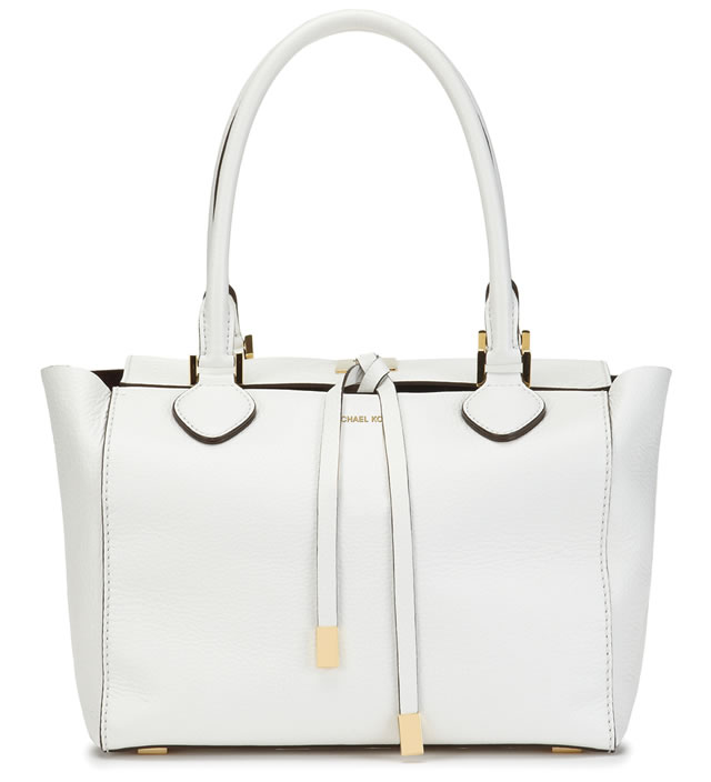 Michael Kors Optic White Miranda Bag