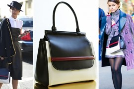 Mira Duma loves her The Row Bag