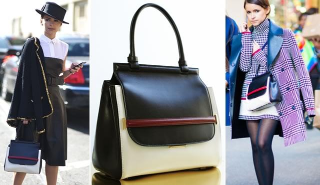 Mira Duma loves her The Row Bag
