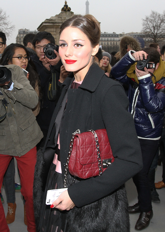 Celebrities and their bags at Paris Fashion Week (15)