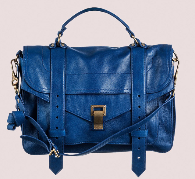 Proenza Schouler PS1 Peacock Leather
