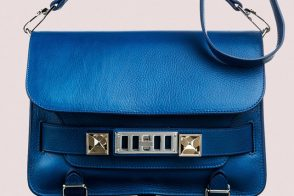 Latest Obsession: Proenza Schouler spring bags in Peacock Blue