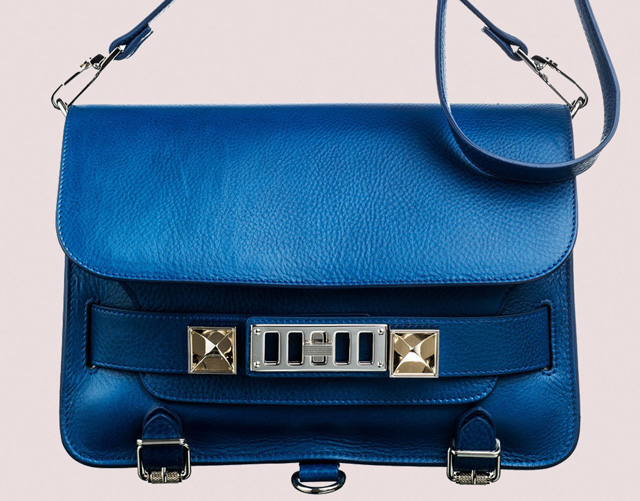 Proenza Schouler PS11 Peacock Blue