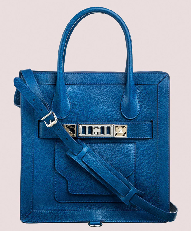 Proenza Schouler PS11 Small Tote Peacock Blue