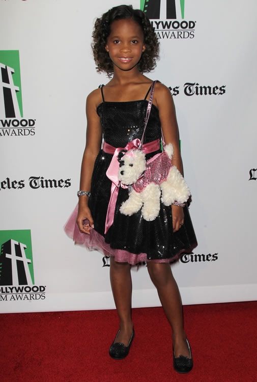 Quvenzhane Wallis Puppy Purse 2
