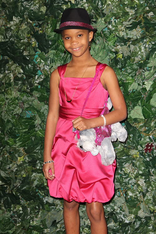 Quvenzhane Wallis Puppy Purse 5
