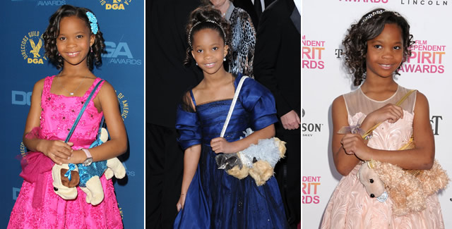 Quvenzhane Wallis Puppy Purses