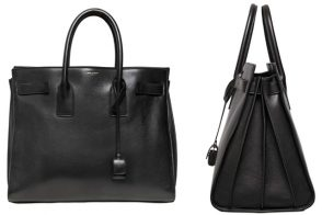 Saint Laurent does its own version of the Hermes Birkin