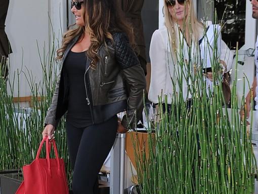 Tamara Ecclestone carries a pink Celine Phantom Luggage Tote in Beverly Hills (5)