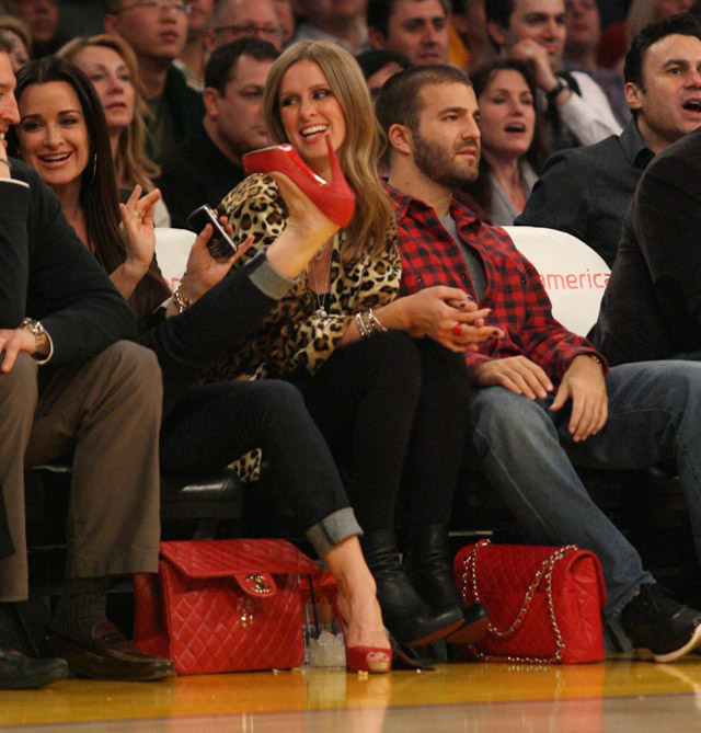 The Many Bags of Celebrity Basketball Fans-21