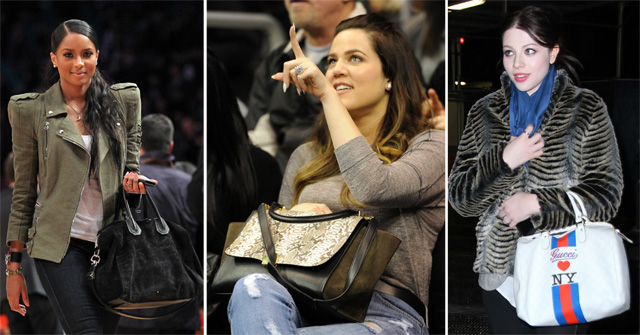 The Many Bags of Celebrity Basketball Fans