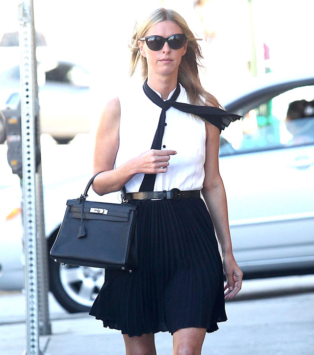 The Many Bags of Nicky Hilton-1