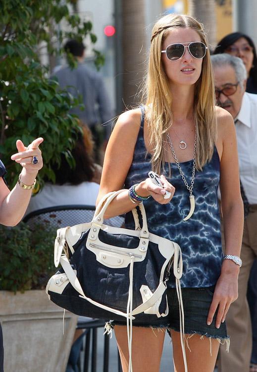 ea3c76363e77 The Many Bags of Nicky Hilton - PurseBlog