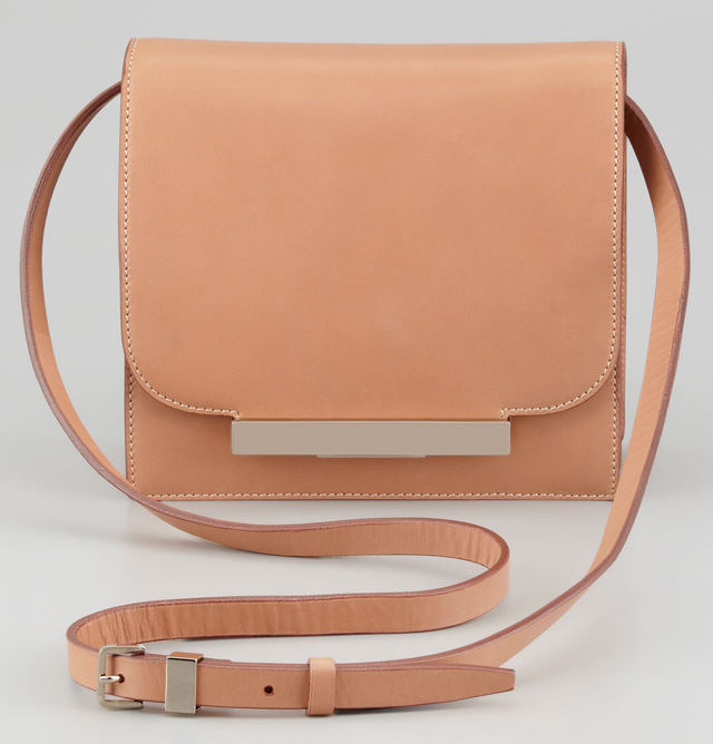 The Row Classic Leather Shoulder Bag